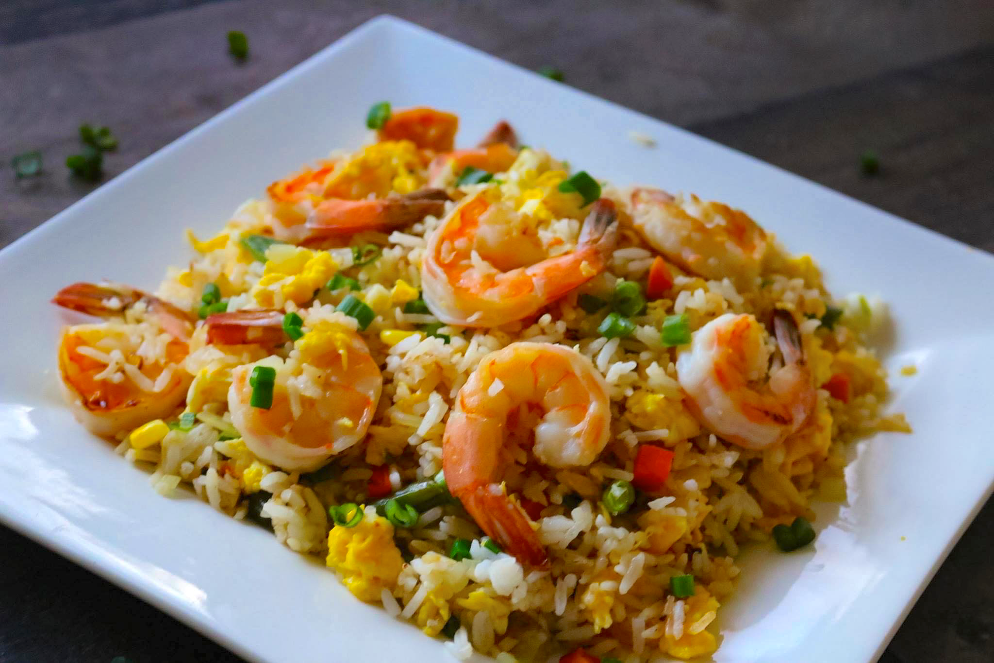 Classic Shrimp Fried Rice Hobby And Cook